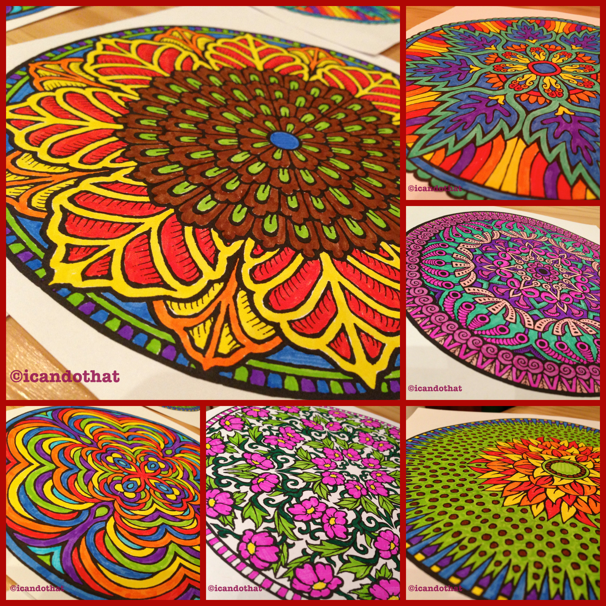 Mystical mandala coloring pages - Anyway Mandala Designs Have Been Around For A Long Time They Have Been Used In Hinduism Buddhism And Christianity To Represent The Universe From The