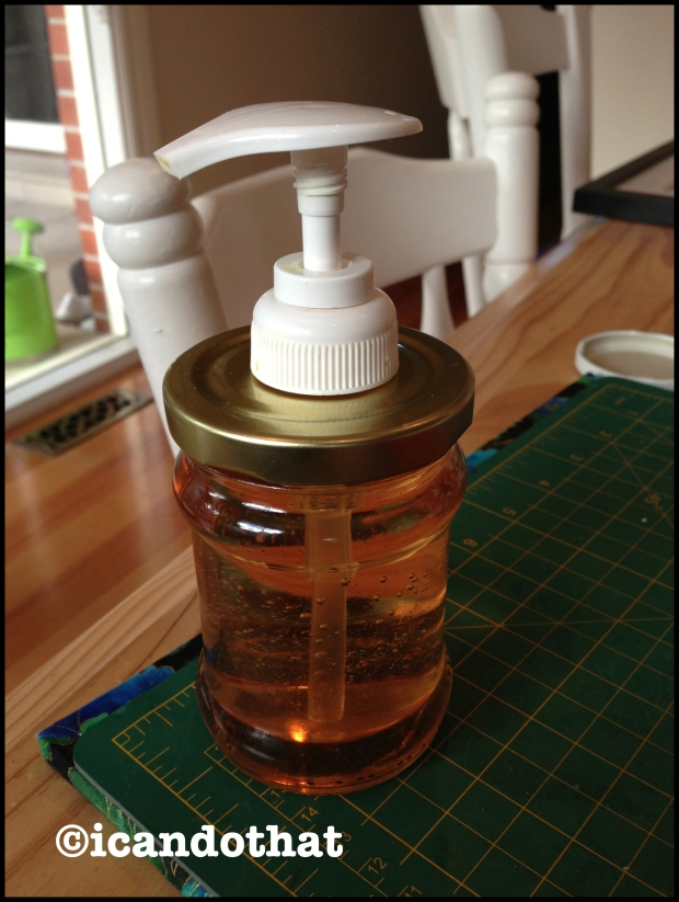 Turning jars into soap dispensers