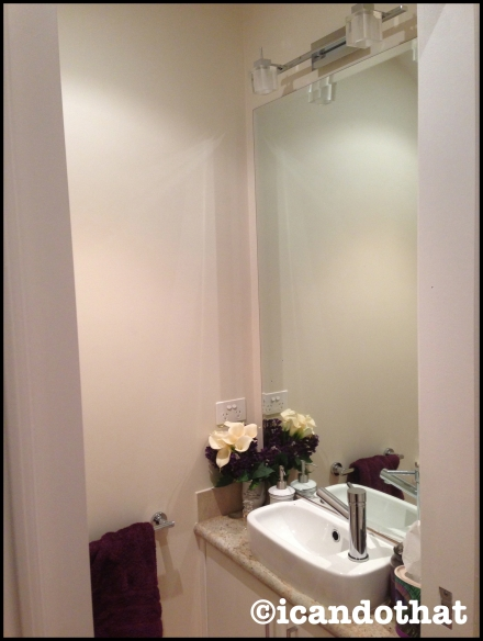Bathroom/powder room
