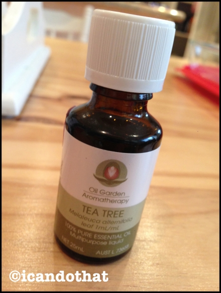 Tea tree (melaleuca) oil