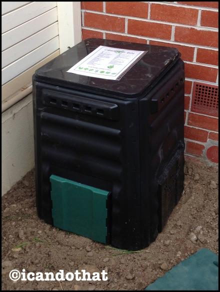 Compost bin sign