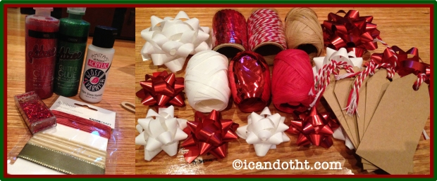 Christmas craft decorations