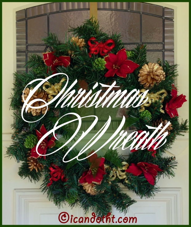 christmas wreath header