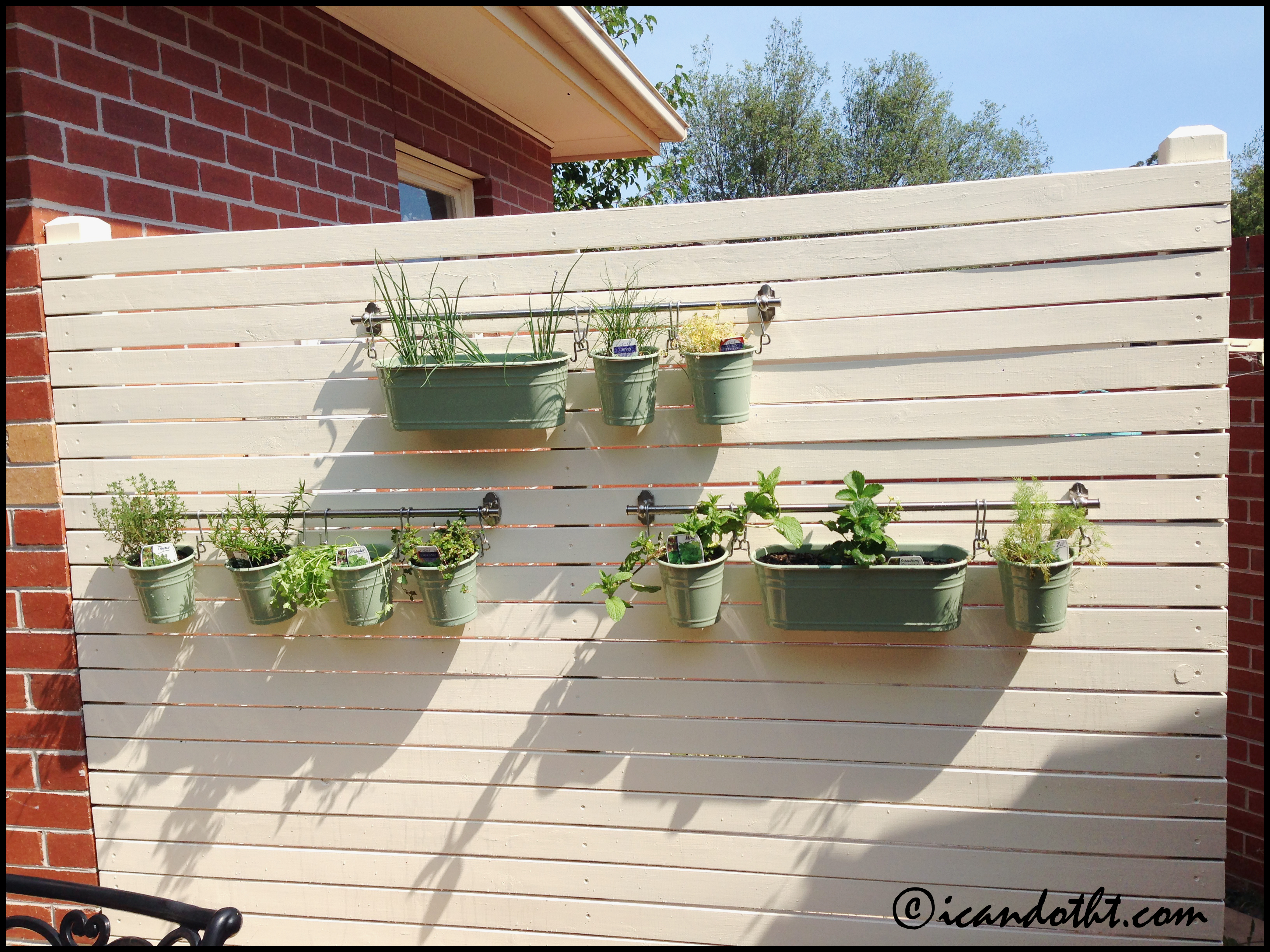 hanging herb garden i can do that