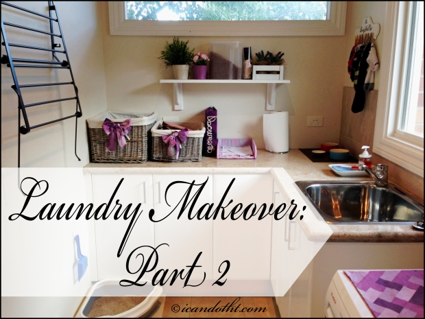 laundry makeover part 2