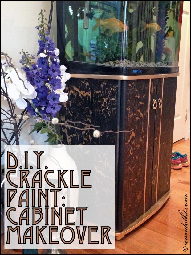 crackle paint front