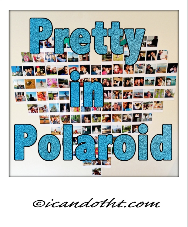 pretty in polaroid