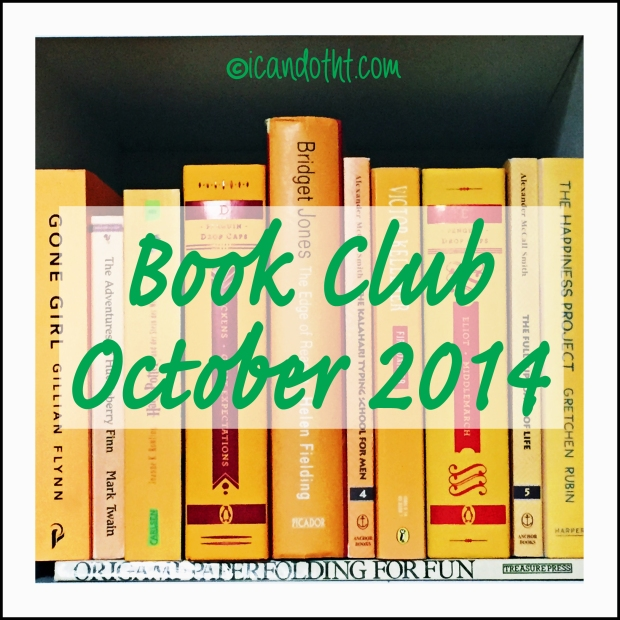 book club october