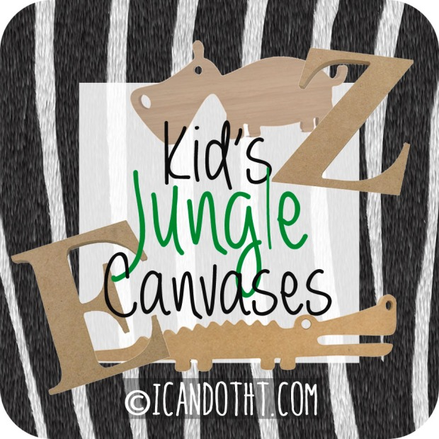 http://icandotht.com/2014/10/20/kids-jungle-canvas/