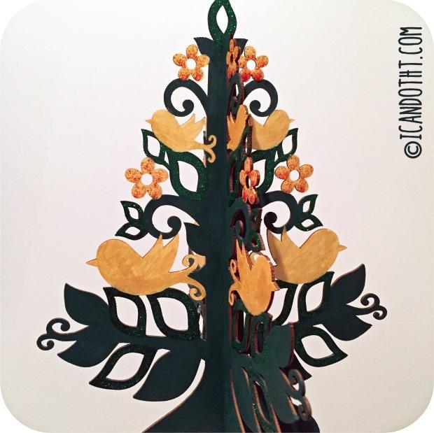 Glitter Tree 2