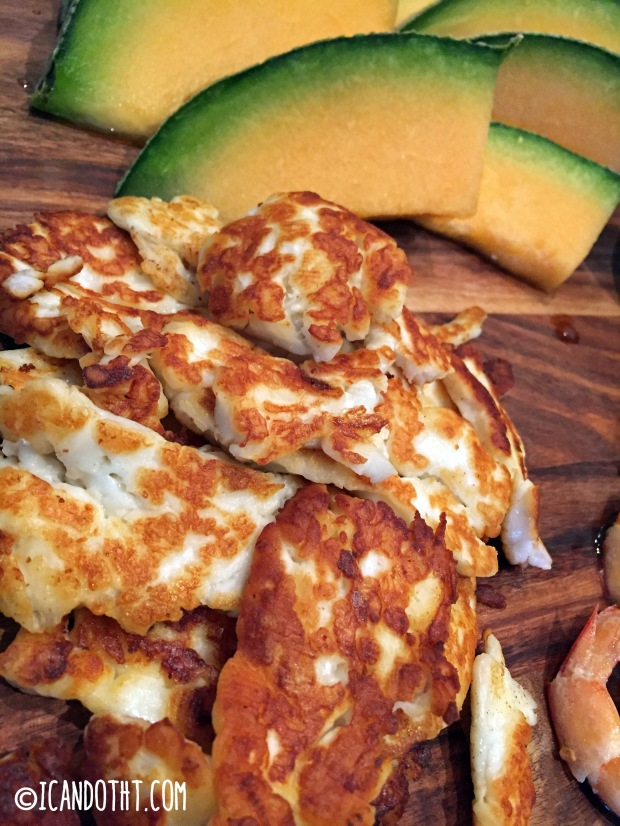 Amazing Antipasti Grilled Halloumi
