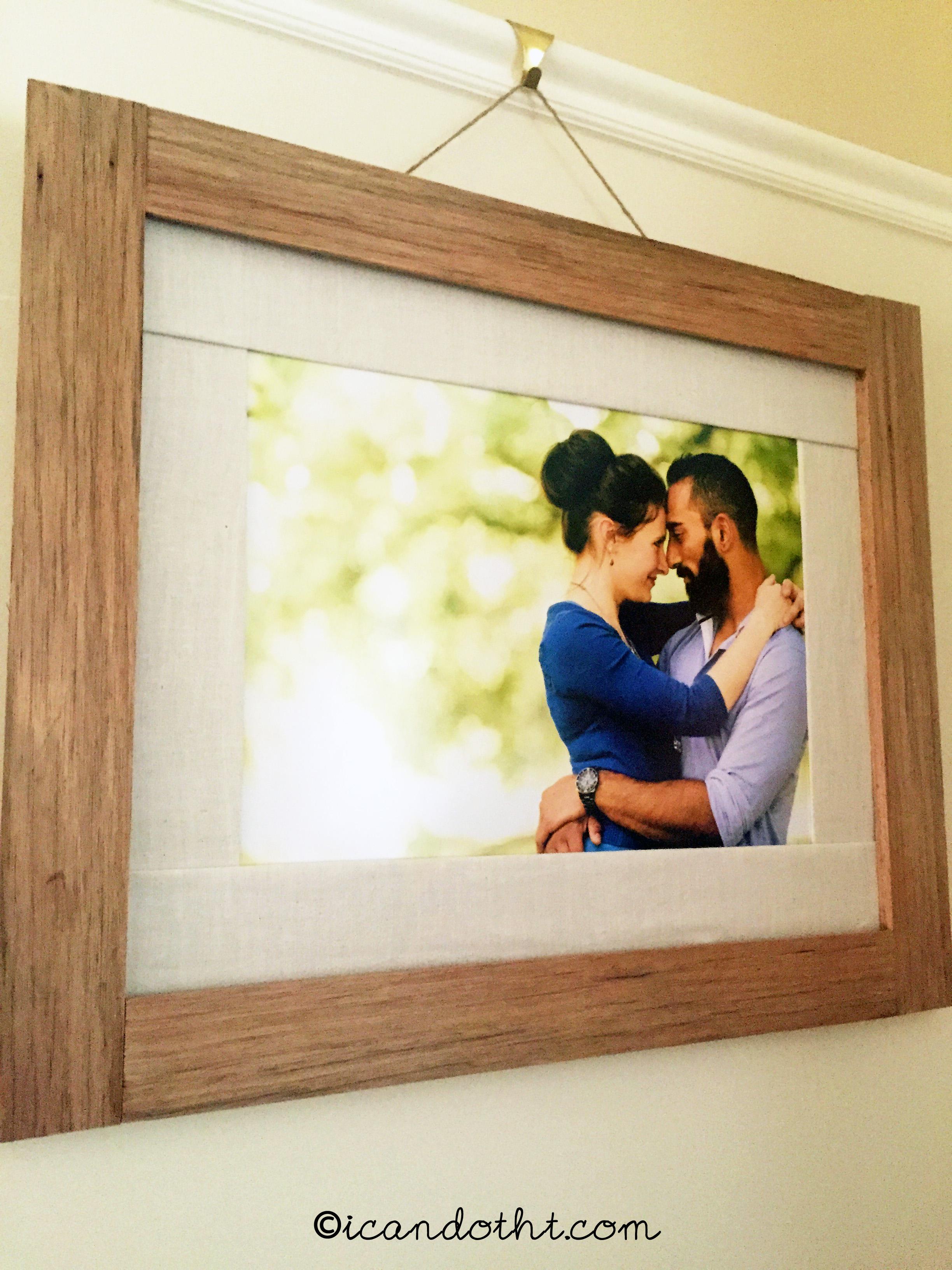 natural wood frame - Natural Wood Frames