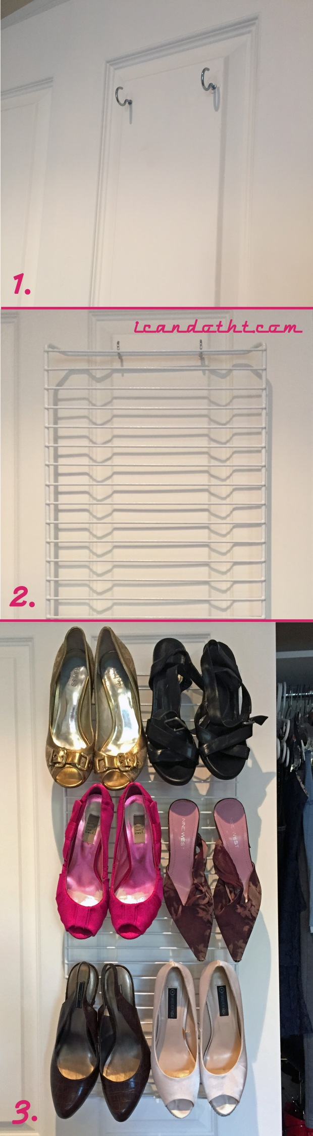 Shoe Storage Steps