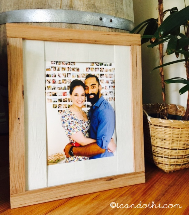 Wooden frame DIY