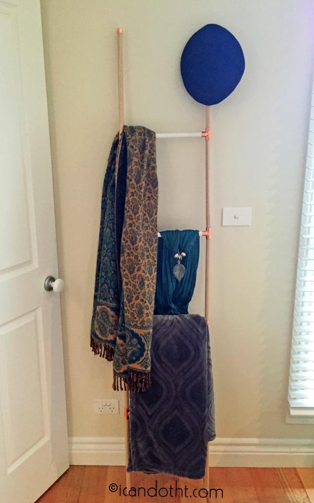 Art deco display ladder diy