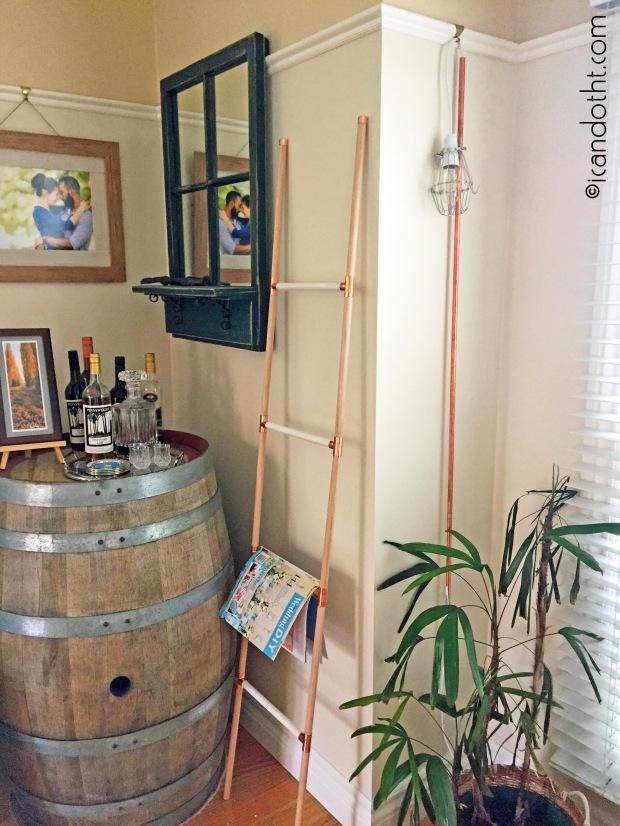 display ladder DIY