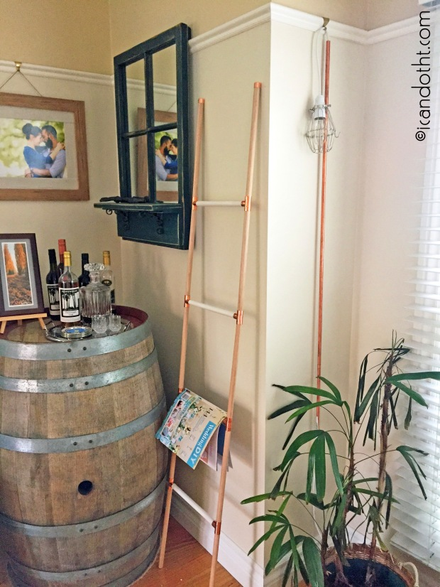 display ladder DIY