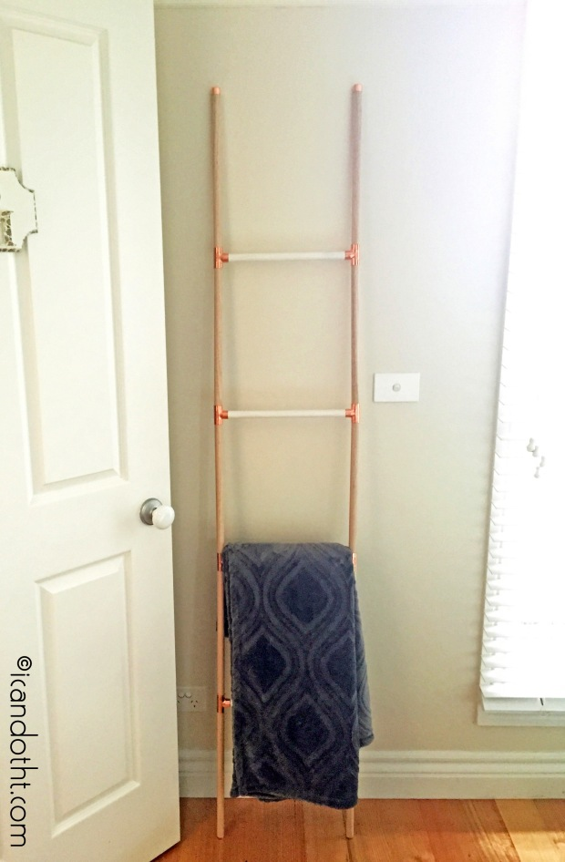 DIY display ladder
