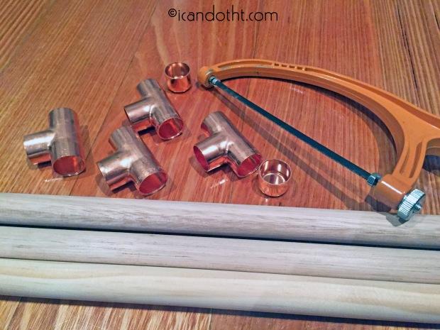 DIY ladder materials