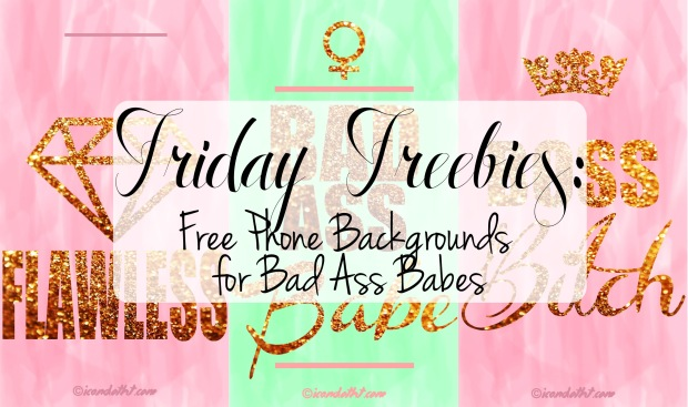 Friday Freebies Phone Backgrounds
