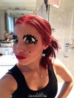 Lady gaga giant eyes