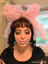 lady gaga pink makeup3