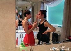 Lady gaga red makeup 4