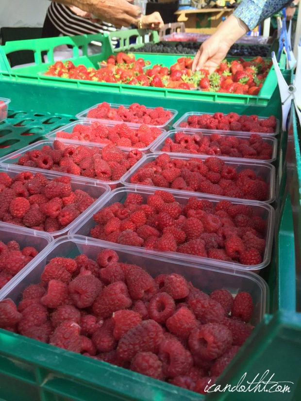 Farm gate market