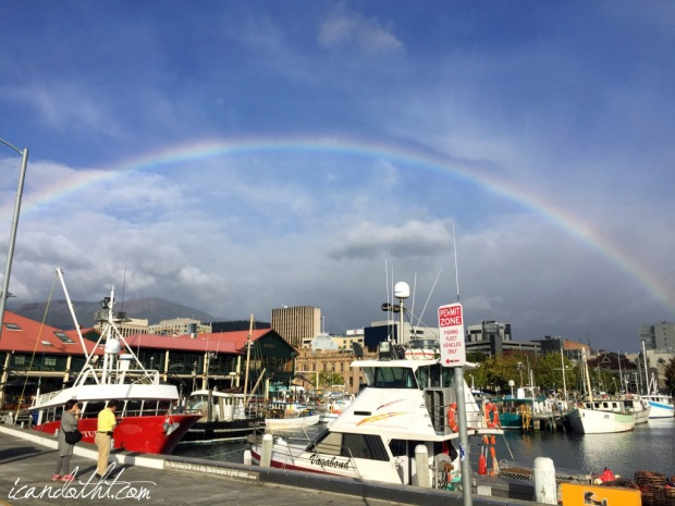 pier rainbow