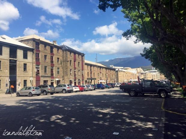 Salamanca place view
