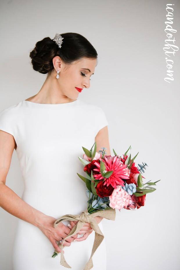 paper-bridal-bouquet