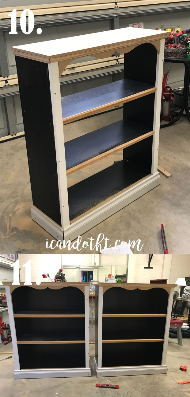 ikea hack book shelves